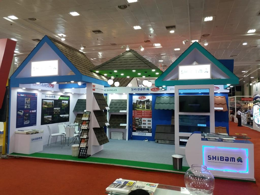 Roof India Exhibition 2018 Shibam Ventures