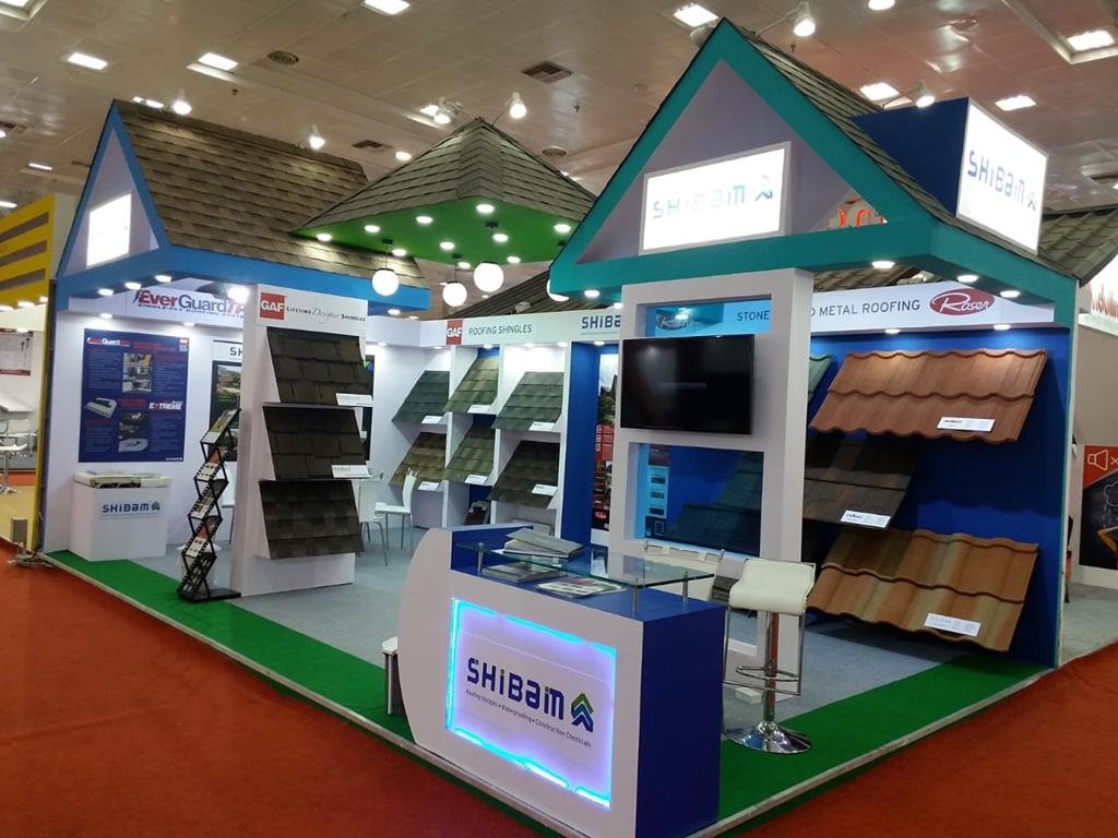 Roof India Exhibition 2018 Shibam Ventures